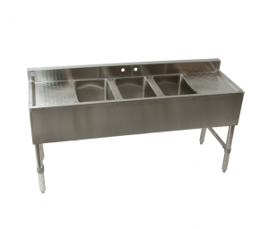 stainless steel commercial bar sink