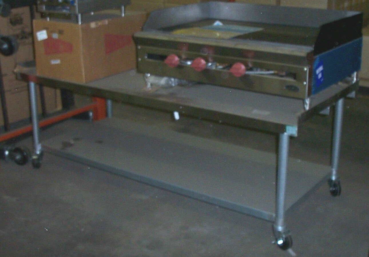 stainless steel commercial equipment stands