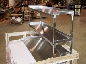 Sandwich Unit Over Shelf Stainless Steel Over Shelves
