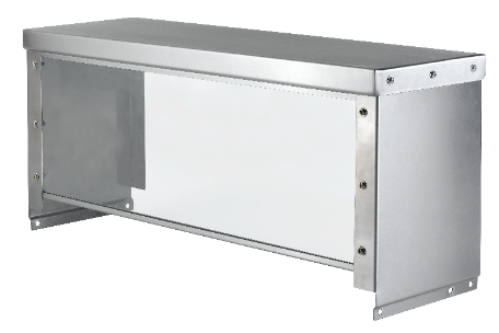 restaurant steam table serving guard