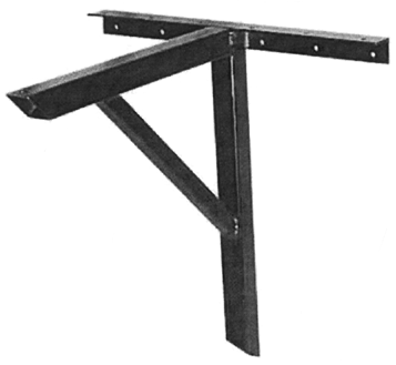 cantilever table base wall mount