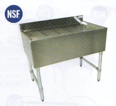 stainless steel bar sink drain boards