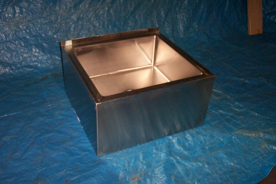 Stainless Steel Commercial Mop Sink. STAINLESS STEEL FLOOR MOUNTED ...
