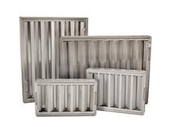 commercial aluminim stainless steel hood filters
