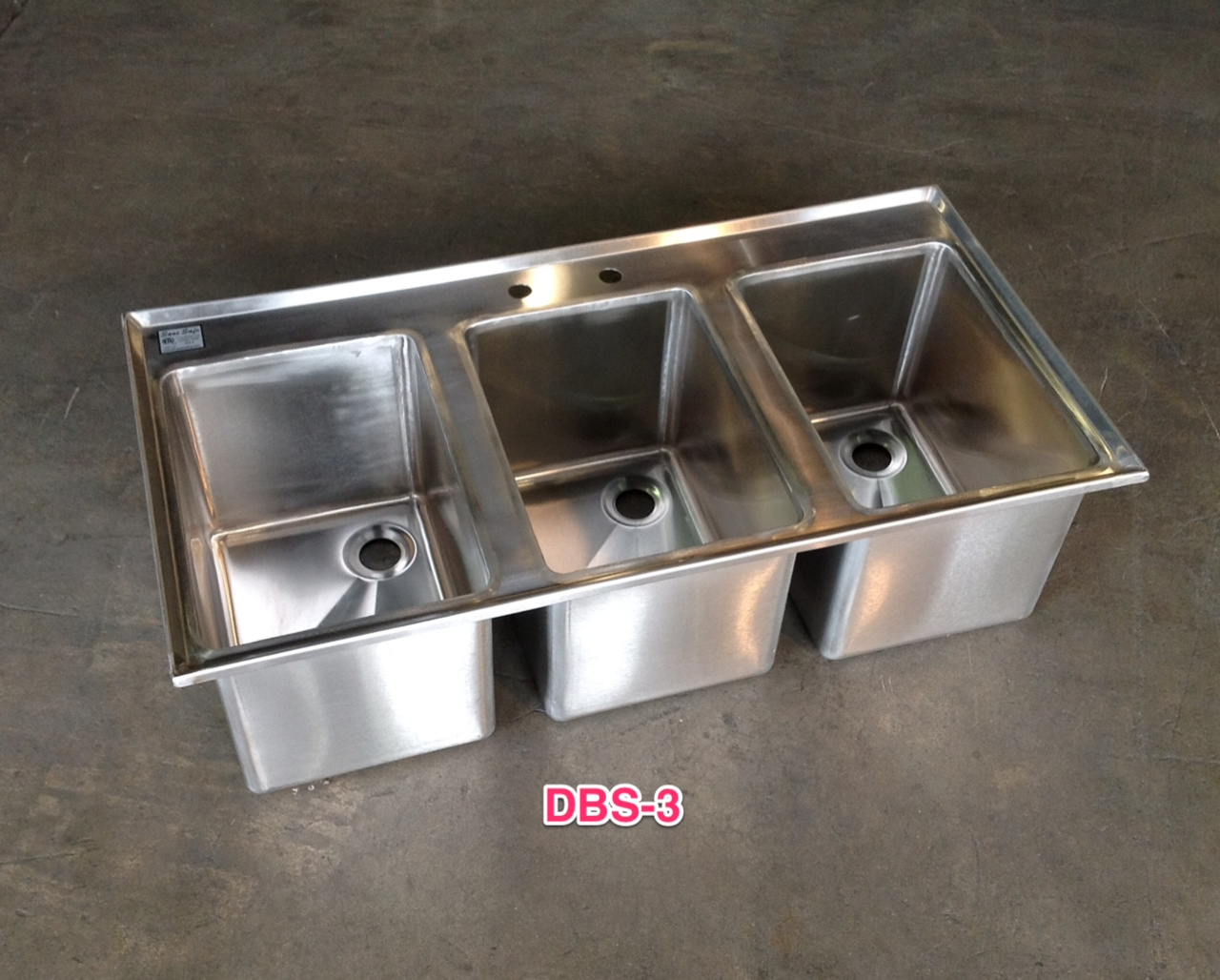 Stainless Steel Commercial Drop In Bar Sink ...